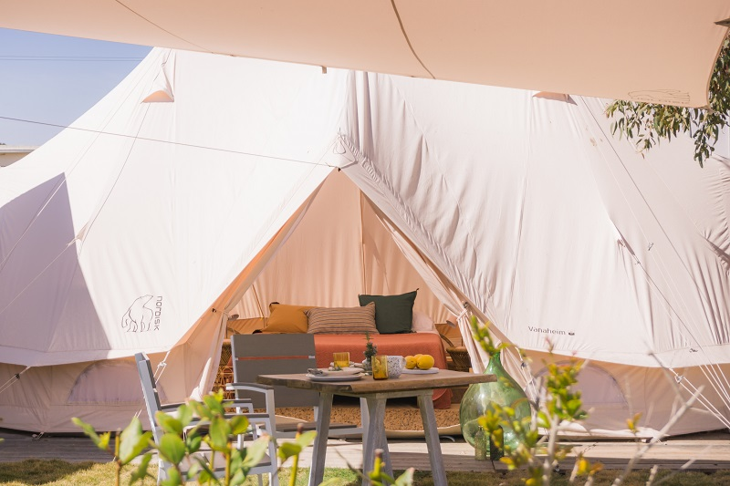 What is glamping: the new trend of luxury camping